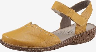 RIEKER Sandale in gelb, Produktansicht