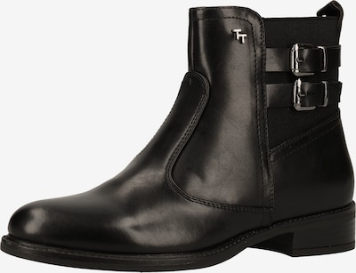 TOM TAILOR Chelsea Boots in schwarz: Frontalansicht