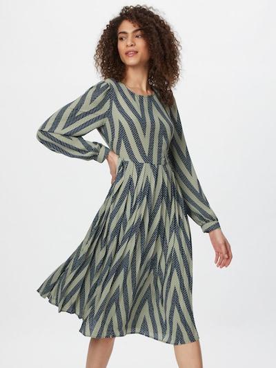 minimum Kleid 'Marseline' in navy / oliv / weiß, Modelansicht