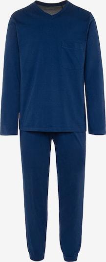 SEIDENSTICKER Langarm Pyjama ' Classics ' in blau, Produktansicht