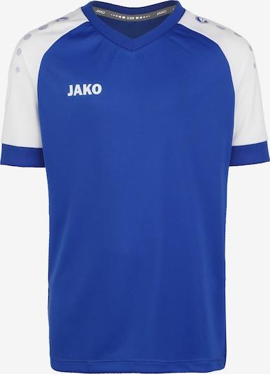 JAKO Champ 2.0 Fußballtrikot in blau, Produktansicht