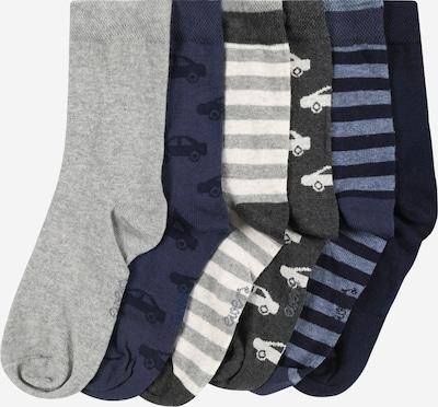 EWERS Chaussettes en marine / bleu marine / gris / gris chiné, Vue avec produit