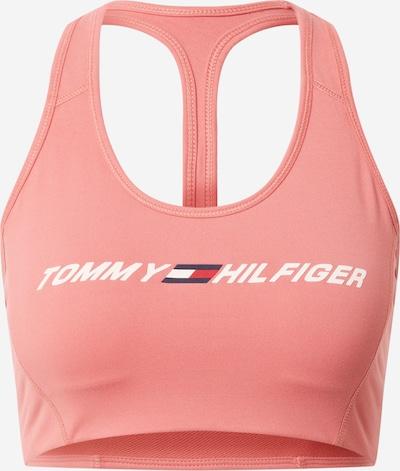 Tommy Sport Soutien-gorge de sport en bleu nuit / rose clair / blanc, Vue avec produit