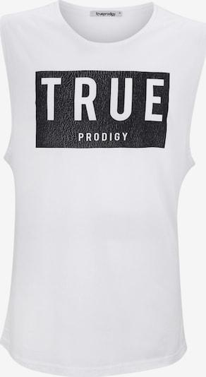 trueprodigy Shirt ' Darek ' in schwarz / weiß, Produktansicht