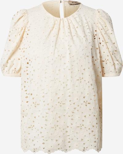 Topuri 'Zinna' MOS MOSH pe alb lână, Vizualizare produs