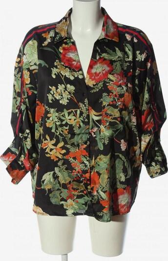 iSilk Hemd-Bluse in XL in grün / rot / schwarz, Produktansicht