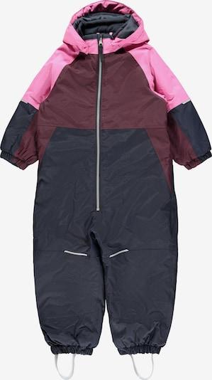 Salopetă 'NMFSNOW03' NAME IT pe roz / roșu bordeaux / negru, Vizualizare produs