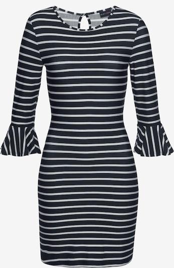 MELROSE MELROSE Jerseykleid in dunkelblau / naturweiß, Produktansicht