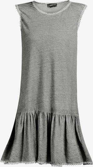 DreiMaster Vintage Robe d'été en gris chiné, Vue avec produit