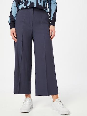 HUGO Ráncos nadrág 'Halasa' - kék