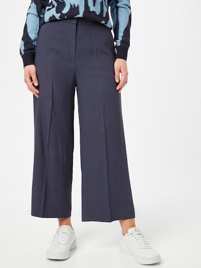 HUGO Hlače na crtu 'Halasa' u tamno plava, Prikaz modela
