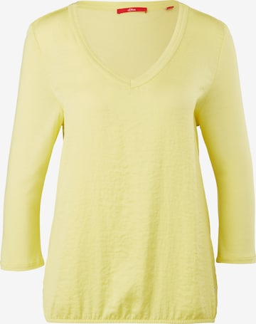 s.Oliver Shirt in Yellow