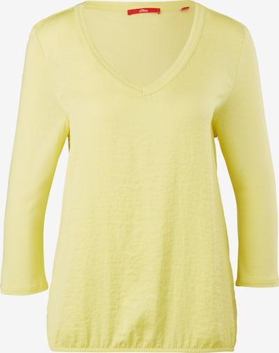 s.Oliver Shirt in hellgelb, Produktansicht