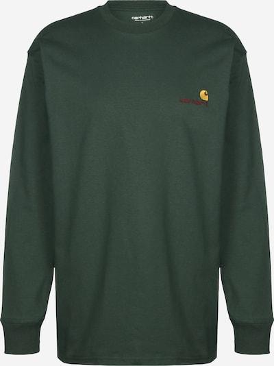 Carhartt WIP Sweatshirt 'American Script' in de kleur Groen, Productweergave