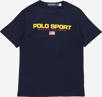 POLO RALPH LAUREN Shirt in de kleur Donkerblauw / Geel / Watermeloen rood / Wit, Productweergave