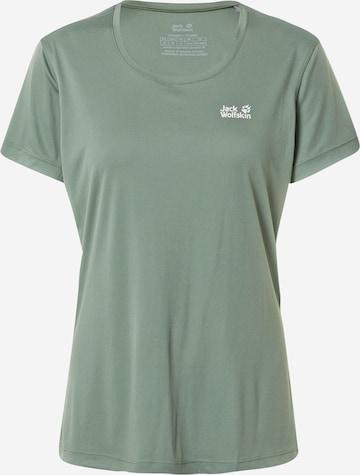 T-shirt fonctionnel JACK WOLFSKIN en vert