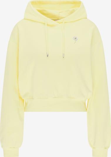 MYMO Sweatshirt in gelb / schwarz / weiß, Produktansicht