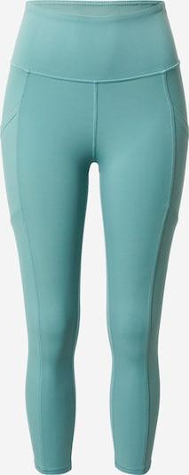 Pantaloni sport Marika pe turcoaz, Vizualizare produs