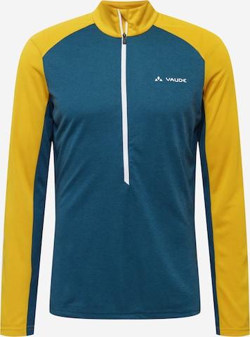 T-Shirt fonctionnel 'Larice' VAUDE en jaune
