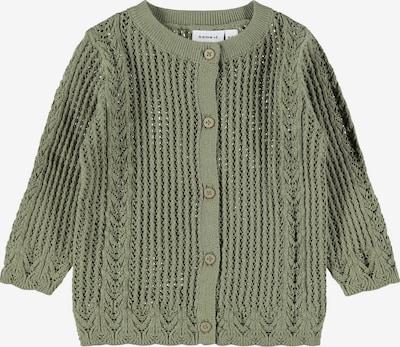 Geacă tricotată 'Filone' NAME IT pe verde, Vizualizare produs
