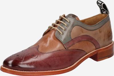 MELVIN & HAMILTON Chaussure à lacets 'Betty 16' en marron / cognac / olive, Vue avec produit