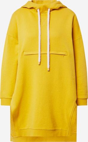 MAX&Co. Bluzka sportowa 'MEGA' w kolorze żółty