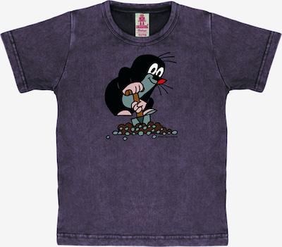 LOGOSHIRT Shirt 'Der kleine Maulwurf' in de kleur Donkerlila, Productweergave