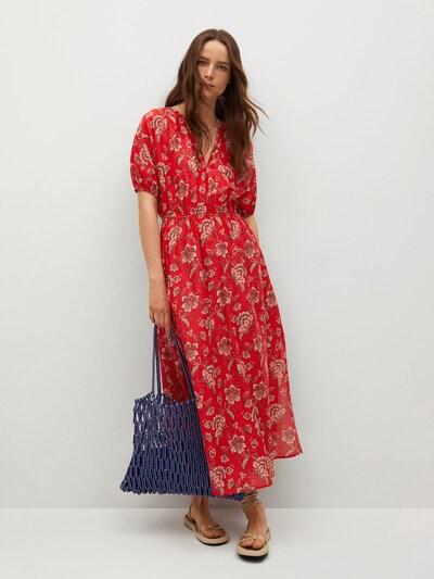 Rochie de vară 'CALABASA' MANGO pe maro deschis / mai multe culori / roșu / alb, Vizualizare model
