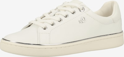 s.Oliver BLACK LABEL Sneaker in silber / weiß, Produktansicht