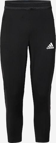 Pantalon de sport 'Warrior' ADIDAS PERFORMANCE en noir