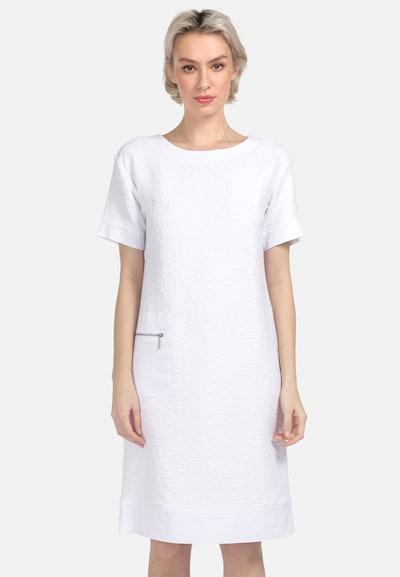 HELMIDGE Jerseykleid in weiß, Modelansicht