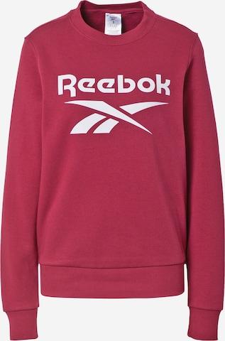 Reebok Sport Sweatshirt in Rot