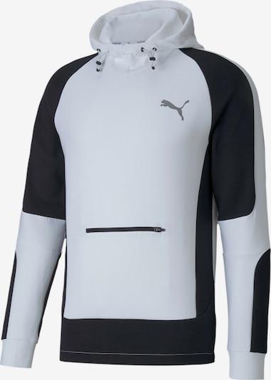 PUMA Sweatshirt in de kleur Zwart: Vooraanzicht