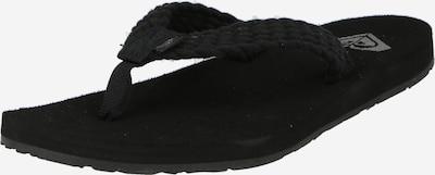 ROXY Zehentrenner 'PORTO III' in schwarz, Produktansicht