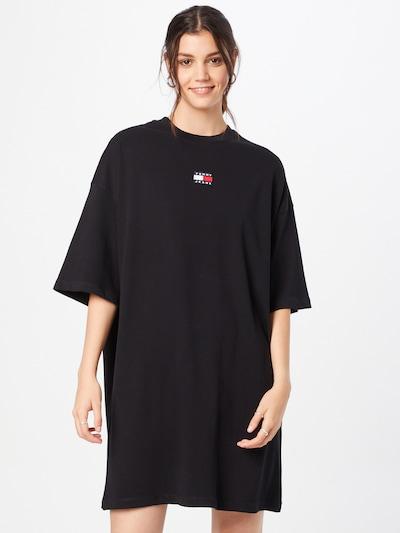 Tommy Jeans Kleid in schwarz, Modelansicht