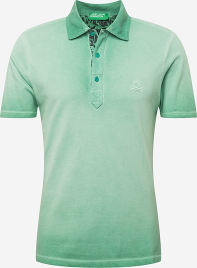 UNITED COLORS OF BENETTON Poloshirt in mint: Frontalansicht