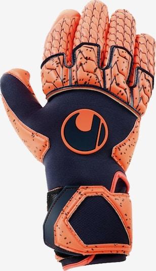 UHLSPORT Handschuh in marine / koralle, Produktansicht