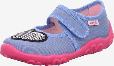 SUPERFIT Chaussure basse 'BONNY' en bleu clair / argent, Vue avec produit