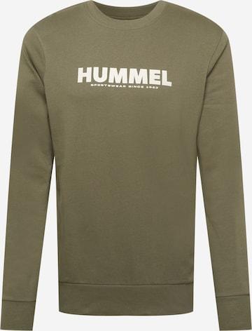 Hummel Sports sweatshirt in Green