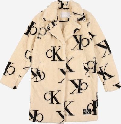 Calvin Klein Jeans Kurtka zimowa w kolorze beżowy / czarnym, Podgląd produktu