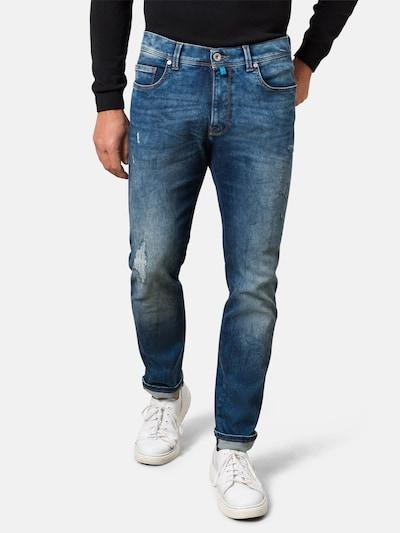 PIERRE CARDIN Jeans 'Lyon' in de kleur Blauw, Modelweergave