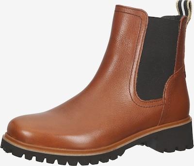 ARA Chelsea Boots in cognac / schwarz, Produktansicht