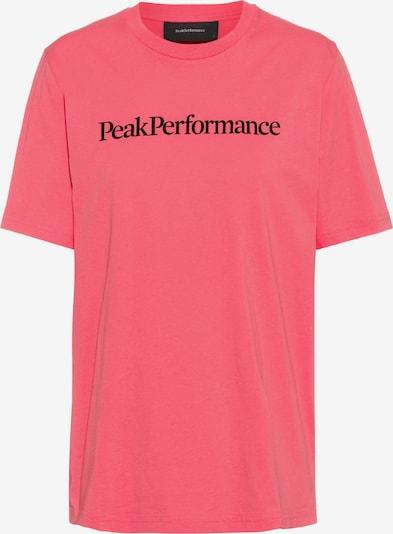 PEAK PERFORMANCE T-Shirt in pink / schwarz, Produktansicht