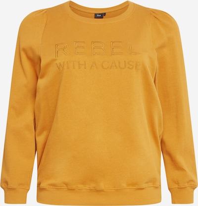 Zizzi Bluzka sportowa 'MIBI' w kolorze złoty żółtym, Podgląd produktu