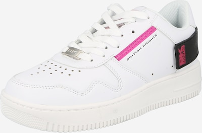 BRITISH KNIGHTS Baskets basses 'JUNE' en rose / noir / blanc, Vue avec produit