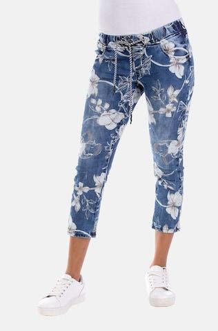 Blue Monkey Jeans 'Cici' in Blue