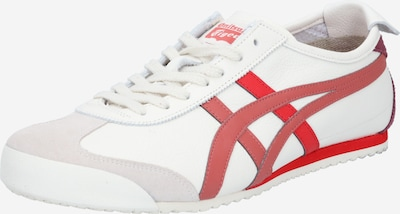 Onitsuka Tiger Sneaker 'Mexico 66' in creme / rot, Produktansicht