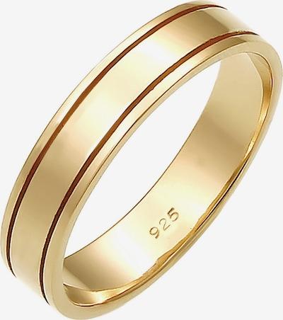 ELLI PREMIUM Ring 'Paarring Bandring Trauring' in de kleur Goud, Productweergave