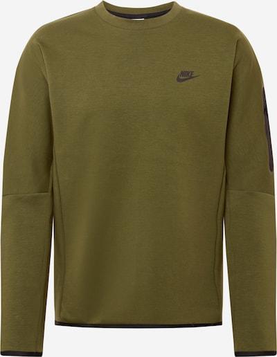 Nike Sportswear Mikina - olivová / černá, Produkt