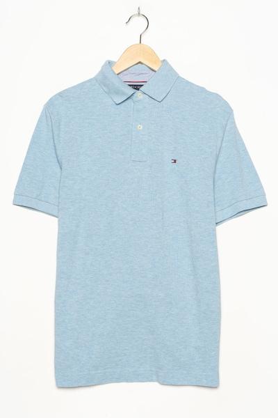 TOMMY HILFIGER Polohemd in M in himmelblau, Produktansicht